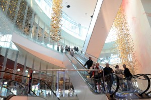 Revel: Guests ride the escalator at the Revel Casino-Hotel in Atlantic City.