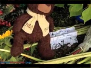 Roadside Memorial for Teens Killed
