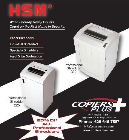 Copiers Plus | Office Equipment | Commercial Printers | Document Services | Egg Harbor Township NJ | Offer