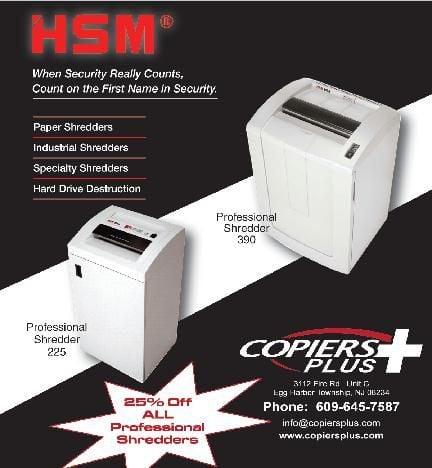 HSM Copiers Plus Offer