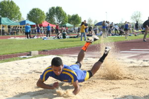 Atlantic County Track And Field Championships: Atlantic County track and field championships at Buena Regional High School Thursday, May, 8, 2014. - Edward Lea