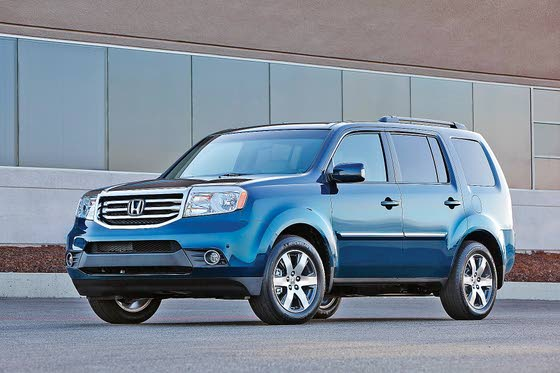 2013 Honda Pilot: Comfortable, Fuel Efficient