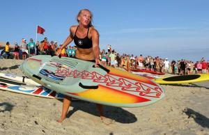Paddleboard races challenge lifeguards