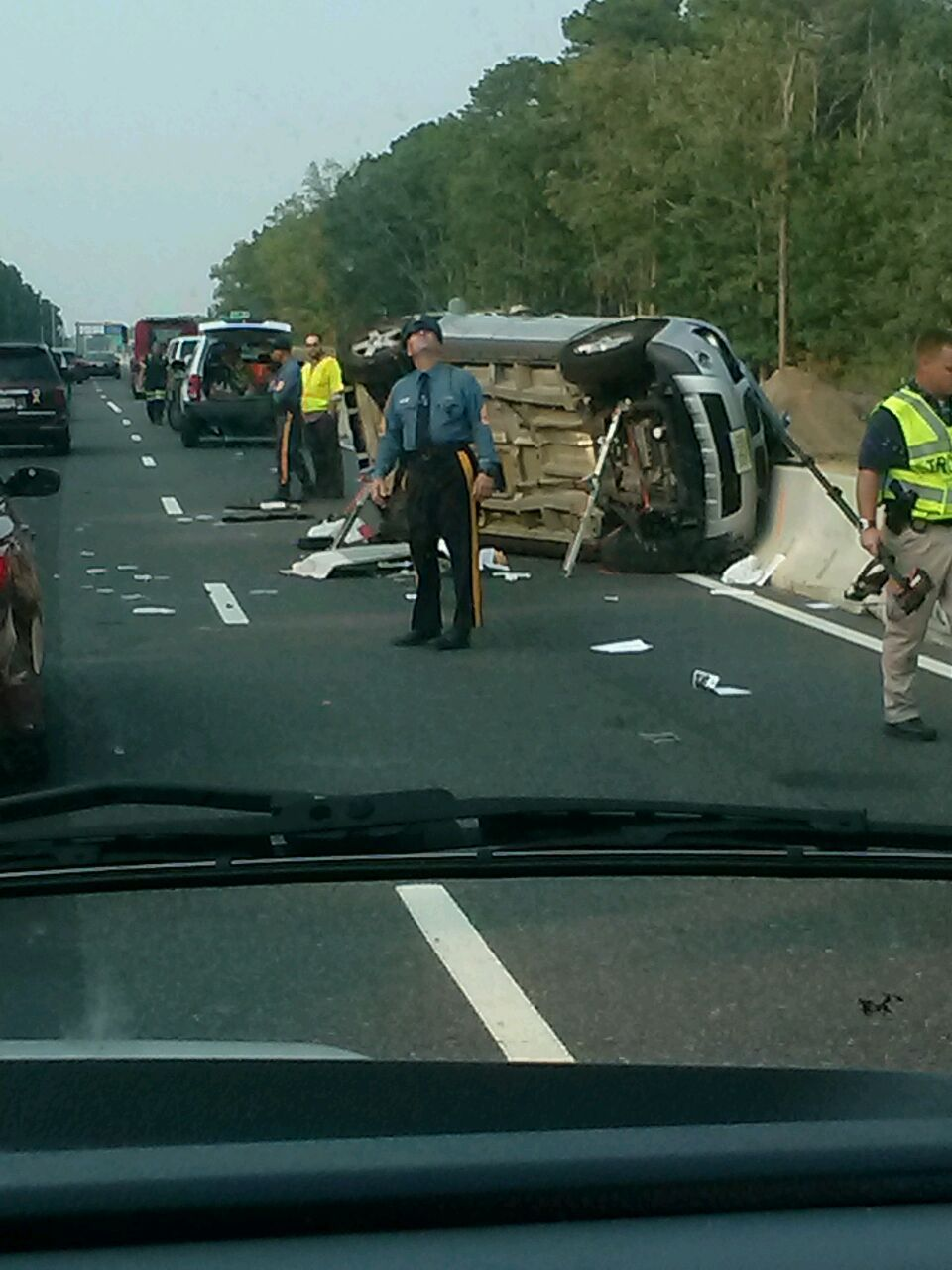 Traffic Re Opened After Accident On Garden State Parkway News