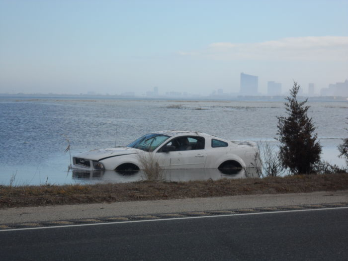 Car in bay