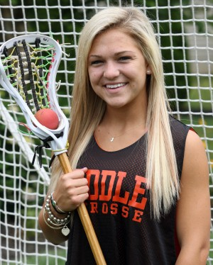 Press Girls Lacrosse Player of the Year Grace Adelizzi of Middle    Famous Girl Lacrosse Players