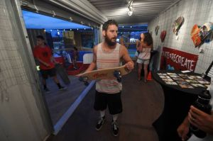 Morey's Pier uses empty artBOX space for short-term 'Skate & Recreate' exhibit