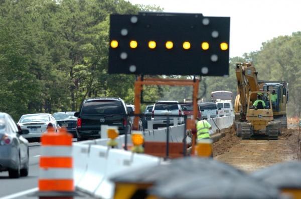 Garden State Parkway widening