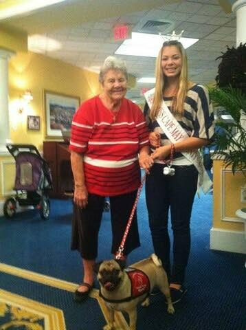 Ocean City teen has personal stake in pet-therapy platform for pageant
