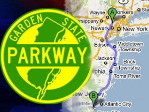 Pennsylvania man leads police on 106 mile high speed garden state parkway chase ending in somers for Directions to garden state parkway south