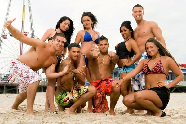 "Cast of ""Jersey Shore"