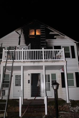 Ocean City fire on Central Ave