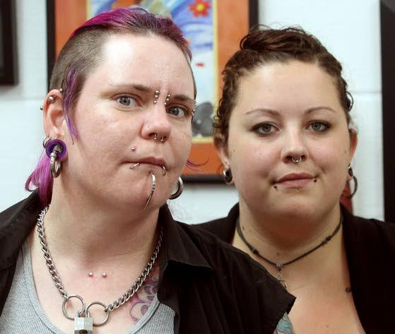 A problem with piercingsIf not done correctly, piercings can raise health concerns