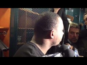 LeSean McCoy talks about the Eagles' loss to the Redskins, Dec. 23, 2012