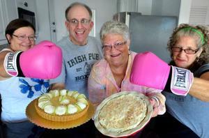 A proper pie fight