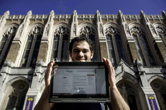 Students press for cheap online textbooks