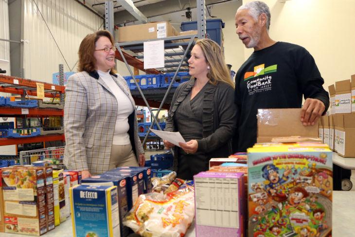 evelyn benton resumes post as director of food bank