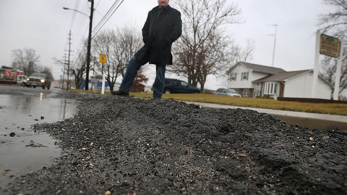 Potholes damaging your car? Here's how to report them