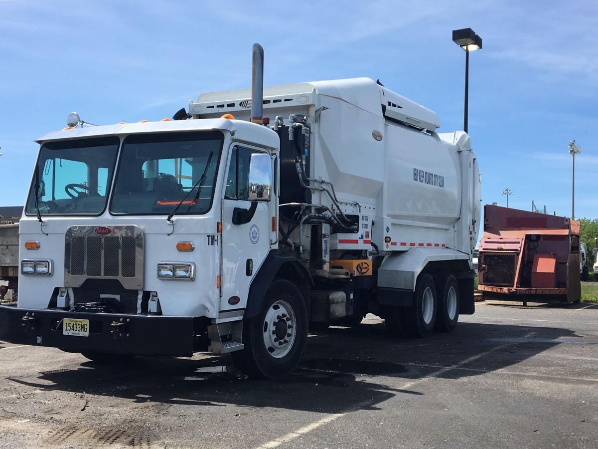 AC trash truck