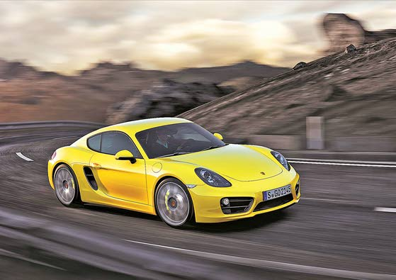 Porsche Cayman: Runs with Fast Crowd