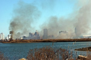Atlantic City controlled burn