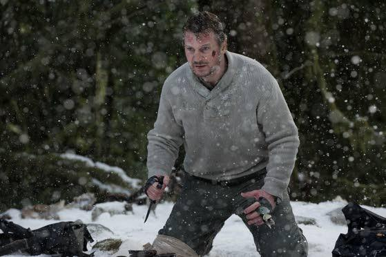 Liam Neeson is the bright spot in dreary action flick 'The Grey'
