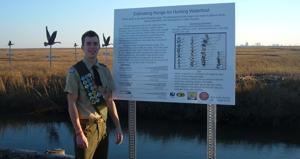 DellaVecchia earns Eagle Scout rank