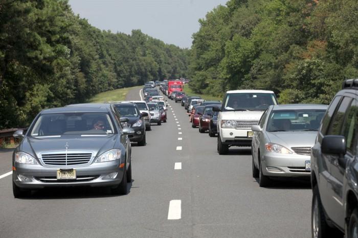 Repair Work Ties Up Traffic On Garden State Parkway Upper Capemay