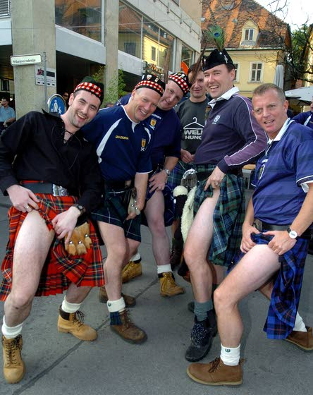 Kilt wearers warned the tradition of 'going commando' is ...