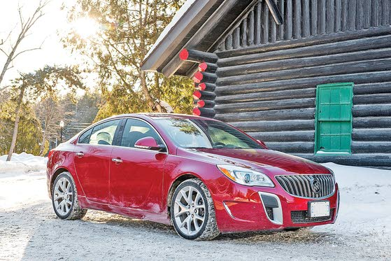 Buick Regal GS: Mild Mannered Sport Sedan