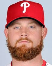 Phillies release reliever Gaudin after exam