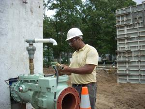 Water utility building new filtration plant in Absecon
