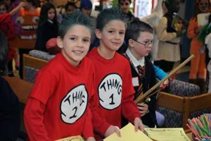 Hess staff, students get creative to celebrate reading