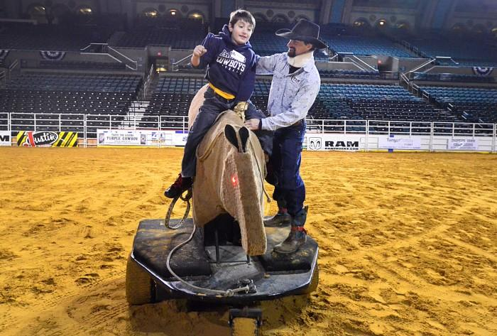 kids and rodeo
