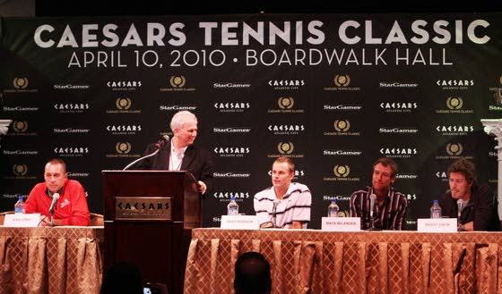 With a better back, Lendl back in tennis tonight in Atlantic City