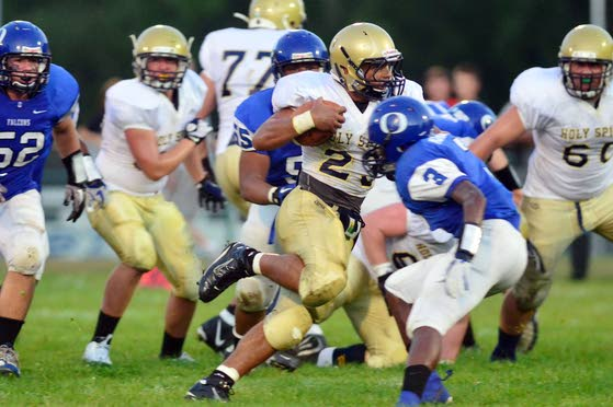 Holy Spirit football pulls away after early 'street fight' with Oakcrest