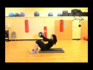 Your Workout: Sit-up Squat into a Chest Press