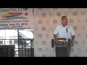 Event director Dave Patnaude talks about the Atlantic City Grand Prix