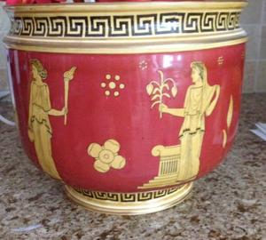 Antiques & Collectibles: Royal Doulton jardiniere may be part of a set