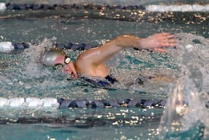 Vineland girls swimmer Annemarie Ruberti