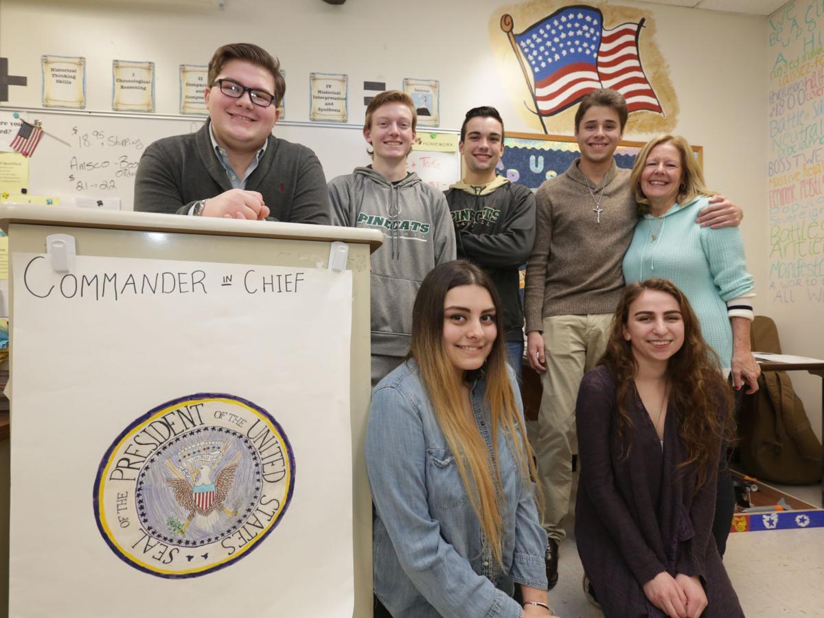 Pinelands Regional students attending inauguration