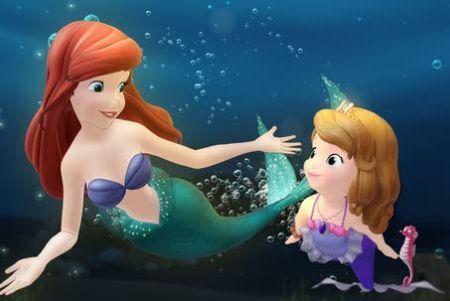 'Mermaid' characters