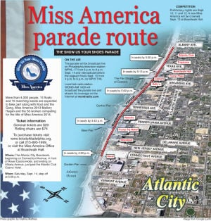 Miss America parade to brighten Boardwalk