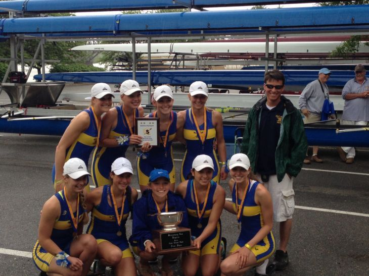 Holy Spirit lightweight varsity eight