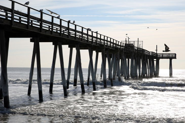 margate beachfill could put fishing pier out of business
