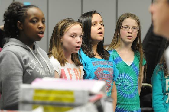 Hamilton Township schools' choirs raise voices to help victims of Sandy