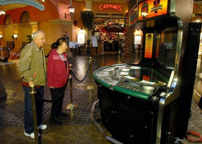List of slot machines at tropicana atlantic city