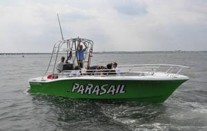 Parasail operators put faith in wind, safety precautions