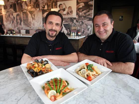 Carluccio's Coal Fired Pizza expands its menu