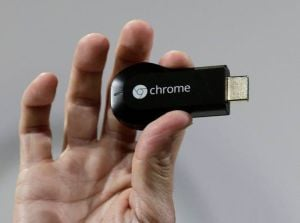 Google Plans Device To Bring Internet Shows To Your TV: A new Chromecast media device, which looks like a USB memory stick, will connect TVs to a home wireless router as well as other devices such as smartphones or laptop computers.